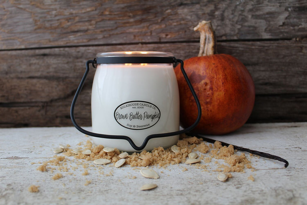 Butter Jar Candle -  Brown Butter Pumpkin 16oz