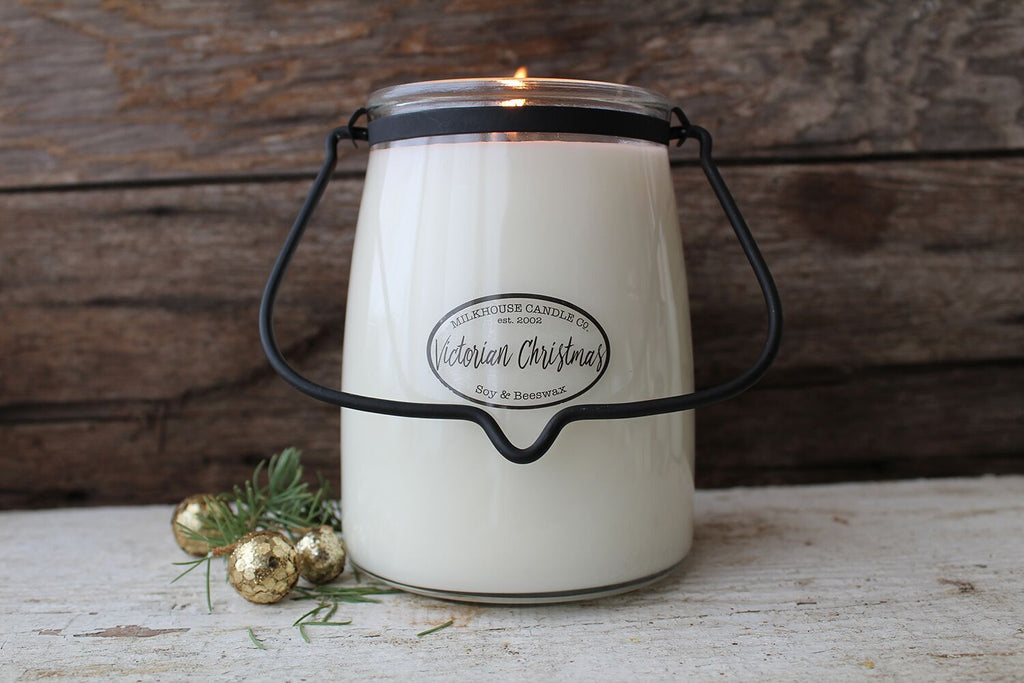 Butter Jar Candle -  Victorian Christmas 22oz