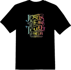 Jesus Is The Way The Truth & The Life T-Shirt - TruthWear Clothing  - 2