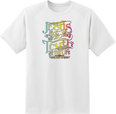 Jesus Is The Way The Truth & The Life T-Shirt - TruthWear Clothing  - 1