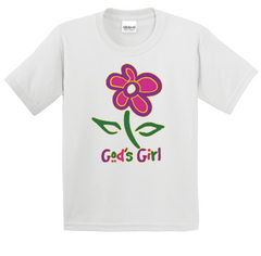Boy's & Girl's God's Girl T-Shirt - TruthWear Clothing