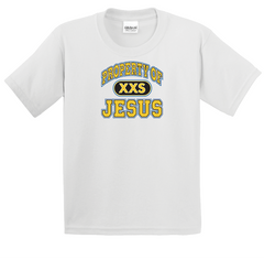 Boy's & Girl's Property of Jesus T-Shirt - TruthWear Clothing  - 1
