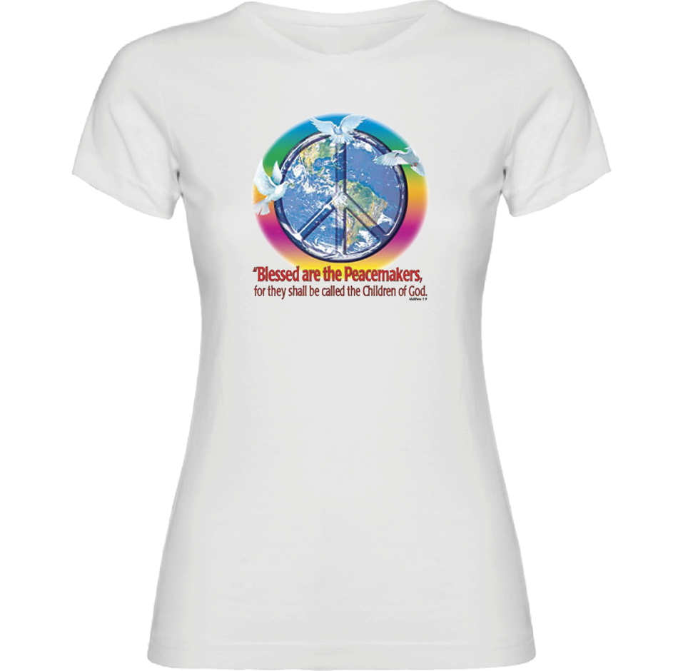 Blessed are the Peacemakers T-Shirt - TruthWear Clothing