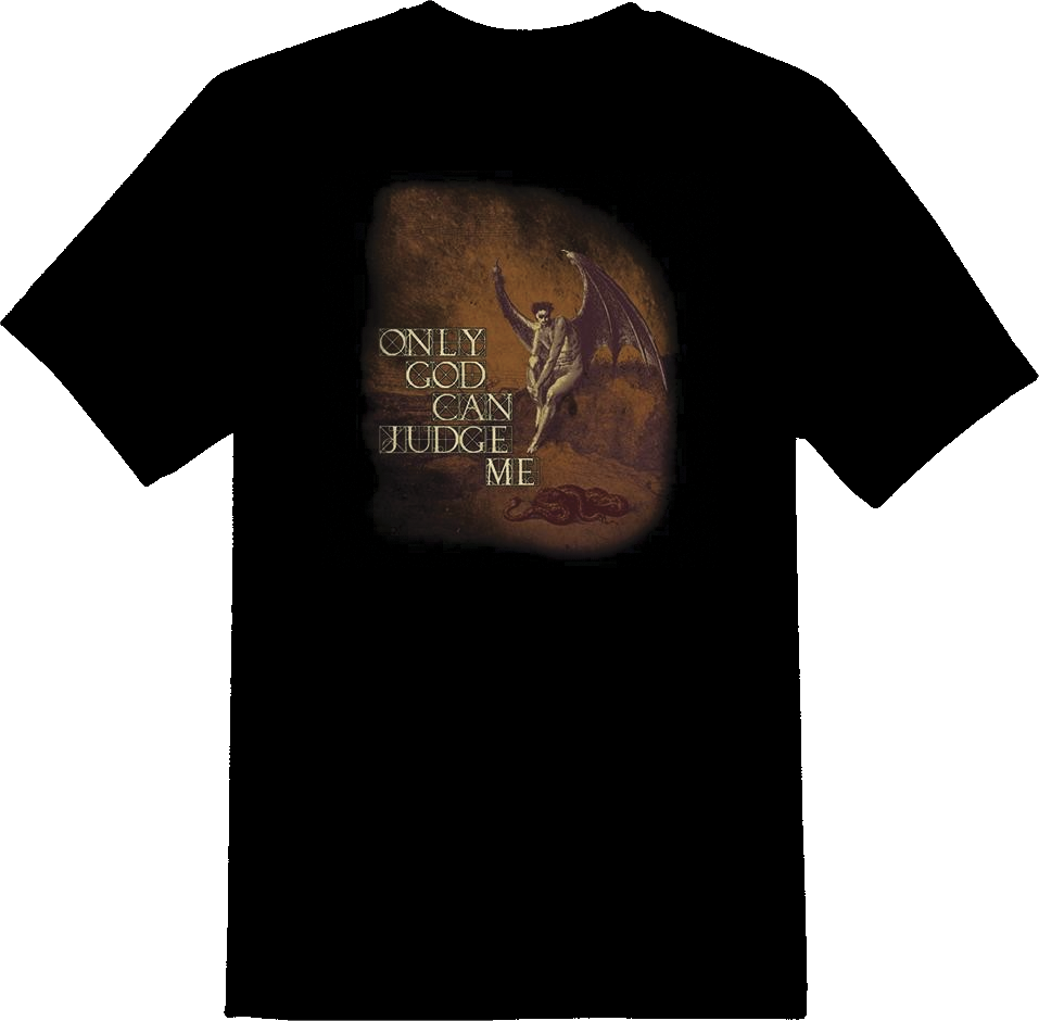 Only God Can Judge Me T-Shirt - TruthWear Clothing