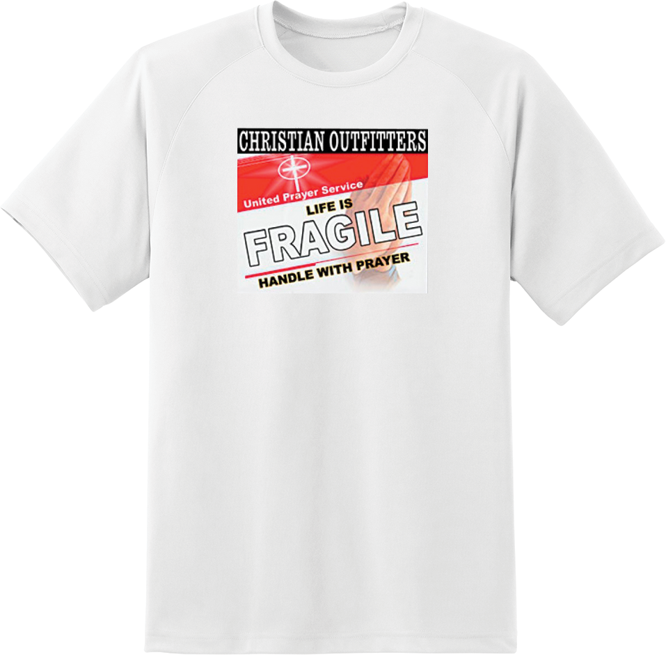 Christian Outfitters - Life is Fragile T-Shirt - TruthWear Clothing
