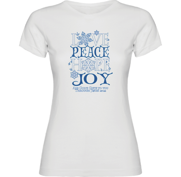 Love Peace Hope & Joy T-Shirt