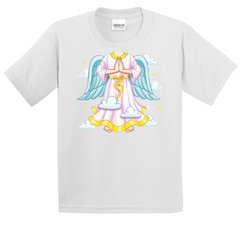 Boy's & Girl's She's An Angel T-Shirt - TruthWear Clothing