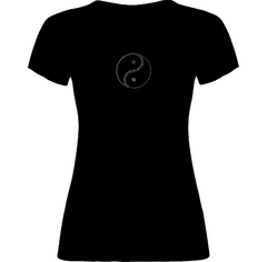Yin & Yang Rhinestone T-Shirt - TruthWear Clothing