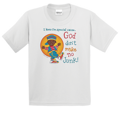 Boy's & Girl's God Don't Make No Junk T-Shirt - TruthWear Clothing