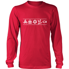 Christian Symbols LS - TruthWear Clothing  - 2