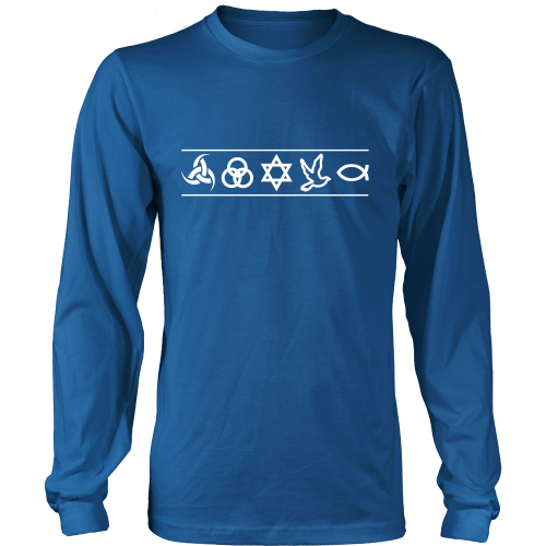 Christian Symbols LS - TruthWear Clothing  - 1