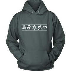 Christian Symbols Hoodie - TruthWear Clothing  - 3