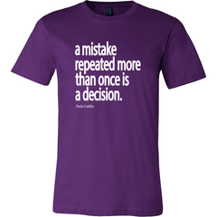 Repeated Mistake - White Text - TruthWear Clothing  - 3