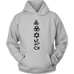 Christian Symbols Hoodie - TruthWear Clothing  - 2