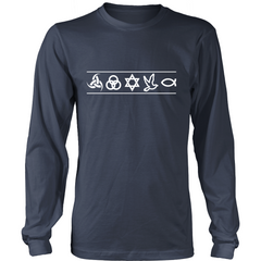 Christian Symbols LS - TruthWear Clothing  - 3