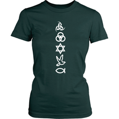Symbols White Women's SS - TruthWear Clothing  - 6