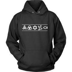 Christian Symbols Hoodie - TruthWear Clothing  - 1