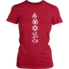 Symbols White Women's SS - TruthWear Clothing  - 5