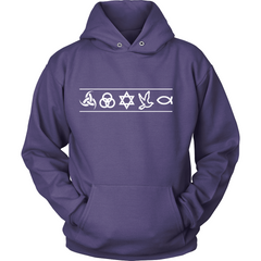 Christian Symbols Hoodie - TruthWear Clothing  - 5