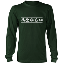 Christian Symbols LS - TruthWear Clothing  - 4