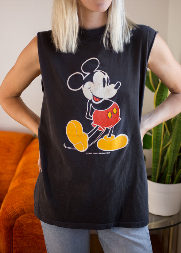 Vintage 90s Mickey Mouse Tank