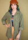 Vintage Distressed Army Jacket
