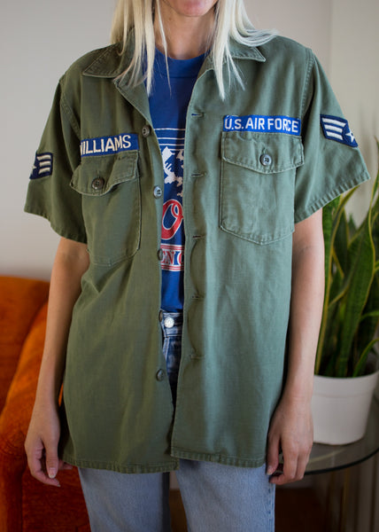 Vintage Short Air Force Jacket