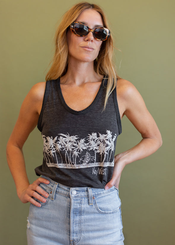 Vintage 1980s Thin Key West Tank