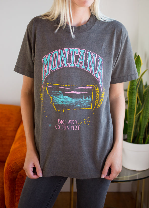 Vintage Montana Big Sky Country Tee