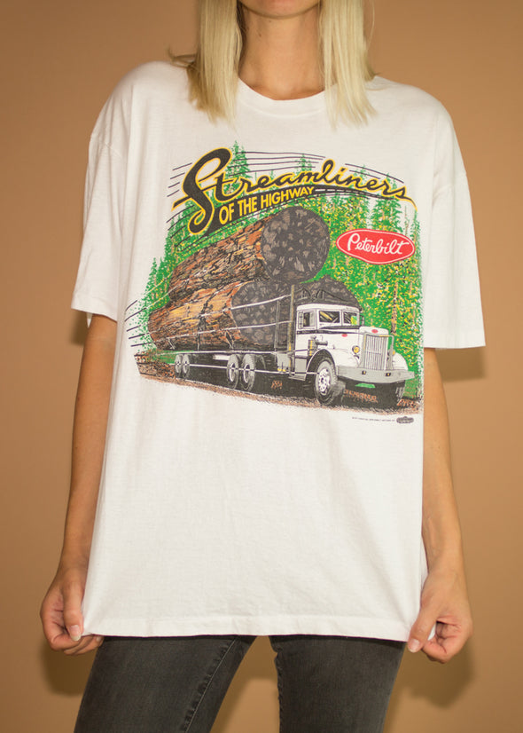 Vintage 1991 Peterbilt Streamliner of the Highway Tee