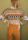 Vintage Reworked Cropped Sweater