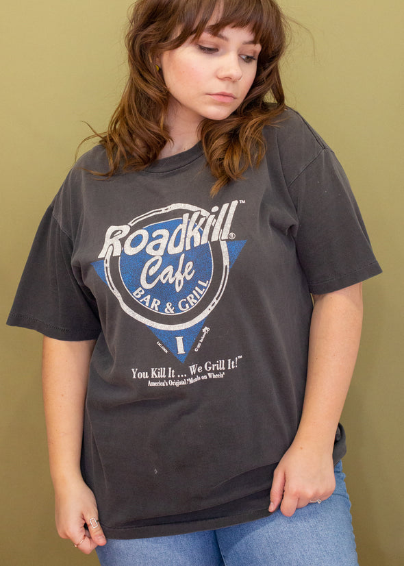 Vintage 90s Faded Road Kill Cafe Tee