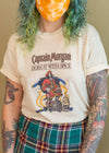 Vintage Paper Thin 1980s Captain Morgan Tee