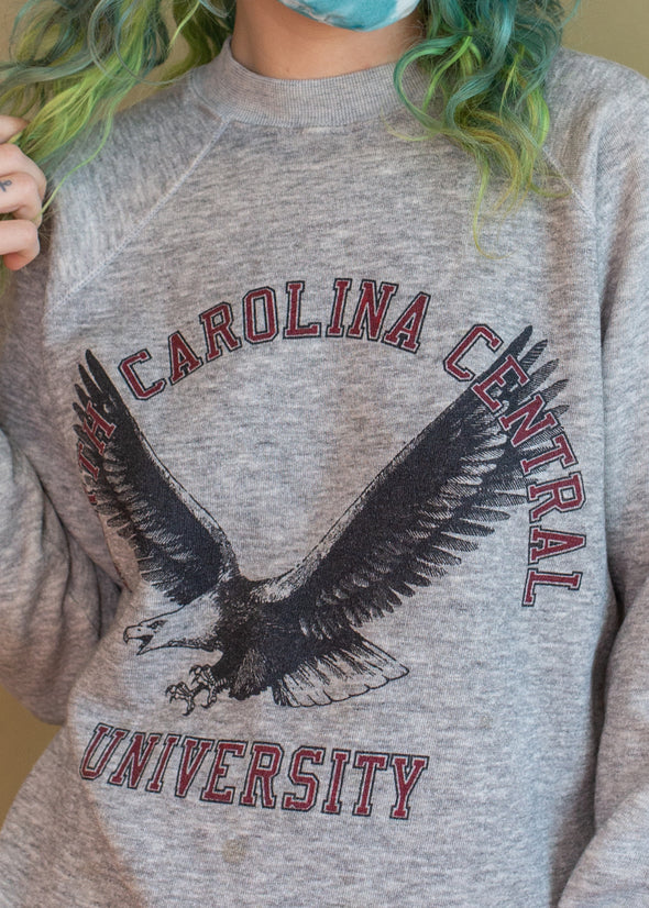 Vintage 1980s North Carolina University Eagle Sweatshirt