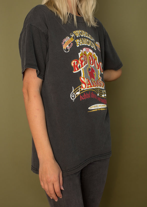 Vintage 90s Red Dog Saloon Tee