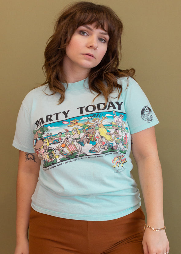 Vintage 90s Party Today Tee