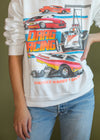 Vintage Drag Racing Crewneck Sweatshirt