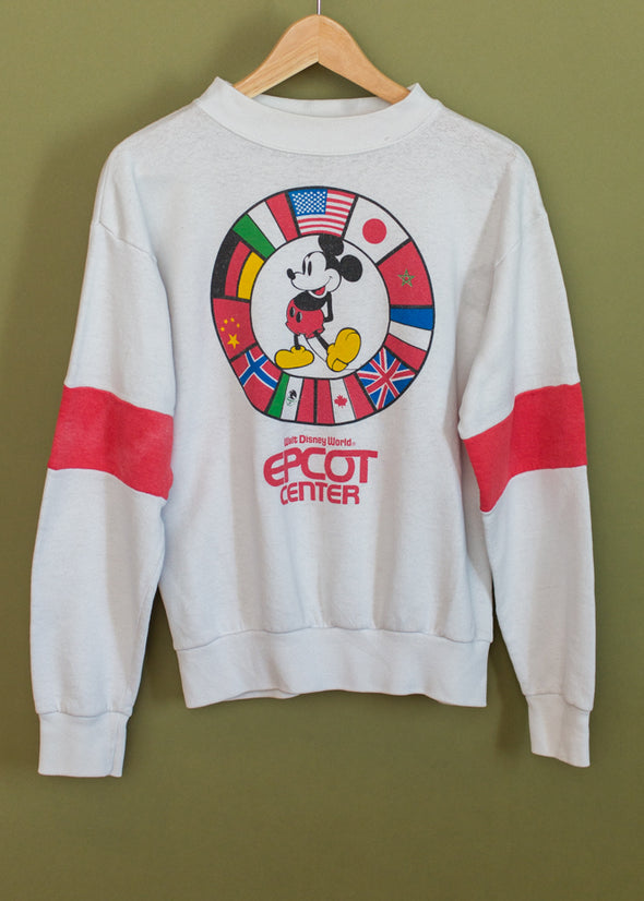 Vintage Disney Epcot Center Crewneck Sweatshirt