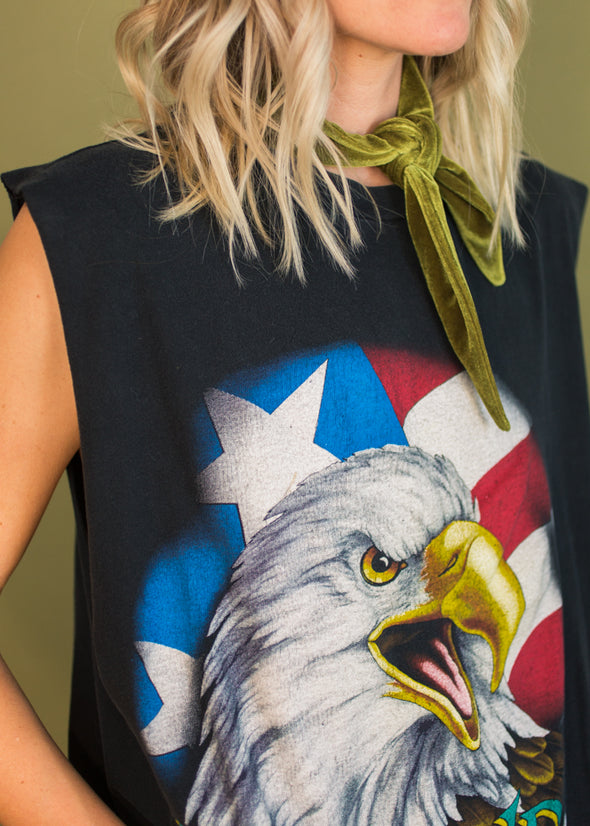 Vintage 90s The Legend Lives Eagle Tank