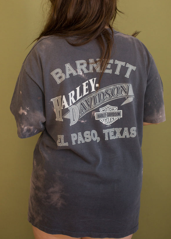 Vintage 90s Genuine Harley Faded Tee