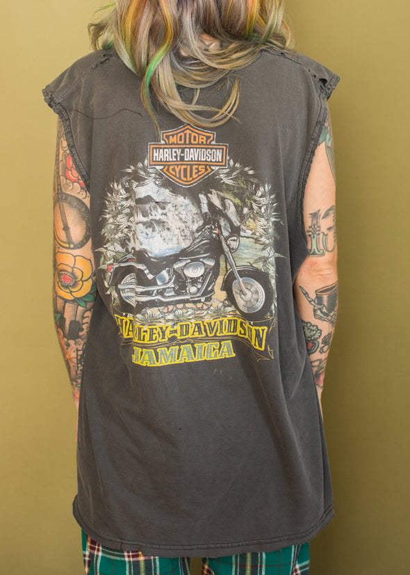 Vintage Grungy Harley Jamaica Tank