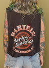 Vintage Los Angeles Harley Cropped Tank