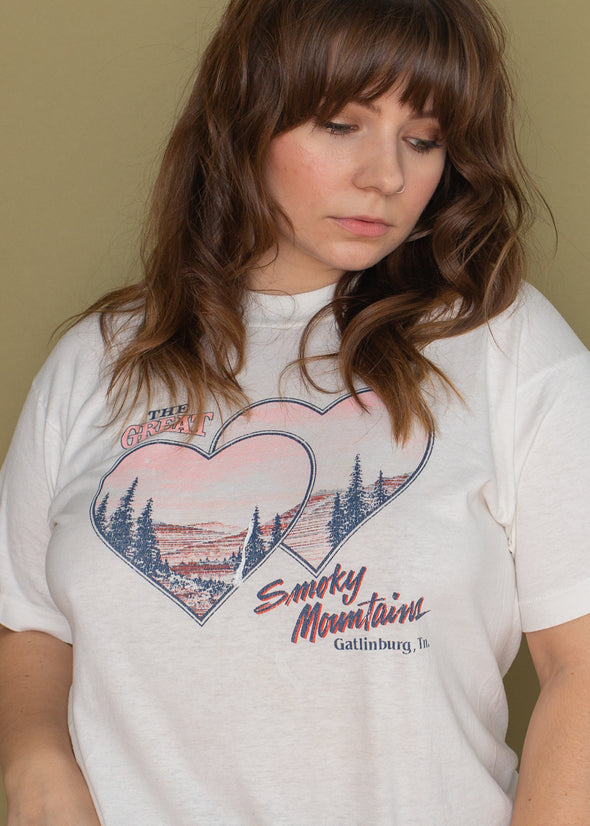 Vintage 90s Great Smoky Mountains Tee