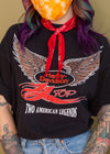 Vintage 1993 Harley And ZZ Top Tee