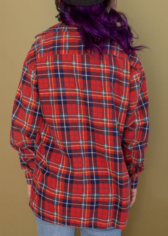 Vintage 80s Camp Flannel