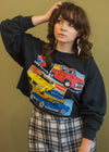 Vintage CarQuest Cropped Sweatshirt