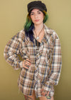 Vintage Lariat Pear Snap Plaid Flannel