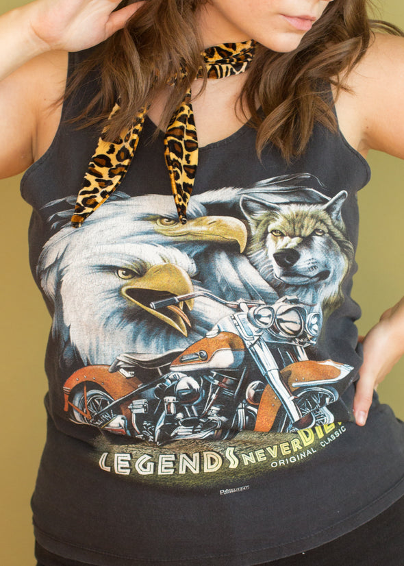 Vintage 90s Legends Biker Tank