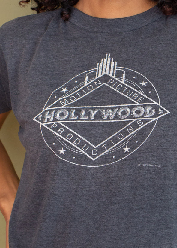 Vintage 1980s Paper Thin Hollywood Tee
