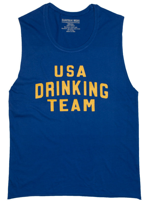 SAMPLE SALE USA Drinking Team Muscle Tank